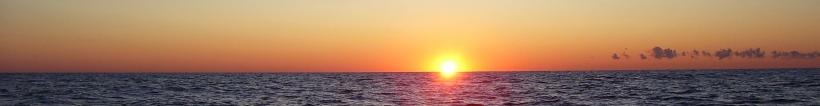 Lake Michigan Sunrise Horizon
