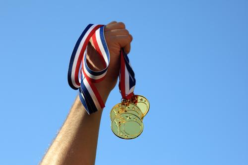 Gold medal winner