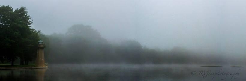 Foggy River Lighthouse