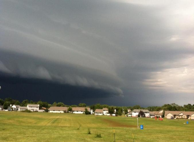 Barry Glaudel - Shelf Storm Cloud over Stillman2