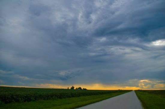 Stormy Road by Ken Gortowski