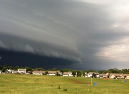 Barry Glaudel - Shelf Storm Cloud over Stillman2